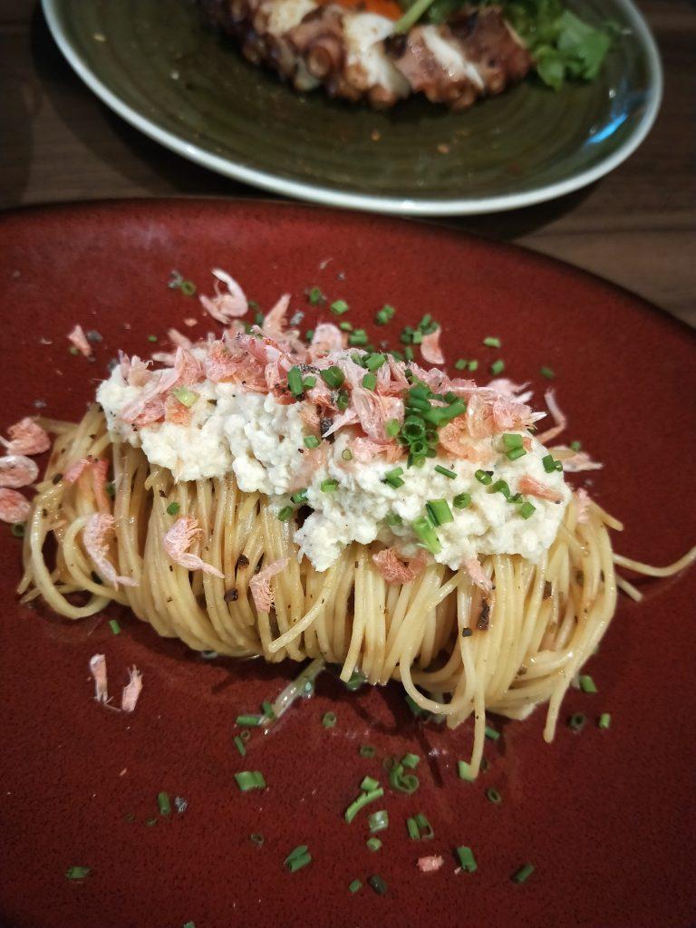 Pasta at FrapasBar and Saveur