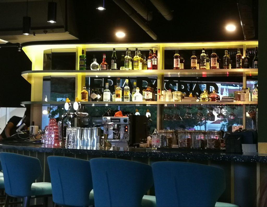 Back Bar at FrapasBar